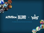 A Leading Interactive Entertainment Company