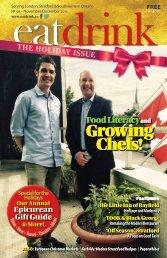 Eatdrink #56 November/December 2015 issue