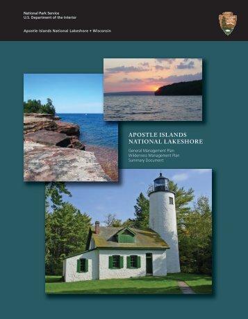 Apostle Islands National Lakeshore - National Park Service