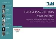 DATA & INSIGHT 2015 cross-industry