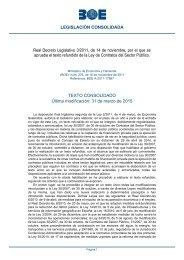 Real Decreto Legislativo 3/2011, de 14 de noviembre, por el que se ...