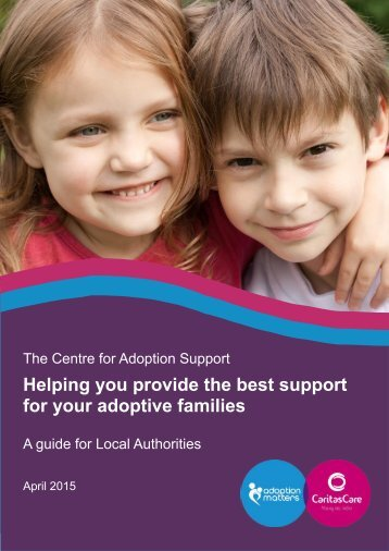 A guide for adoptive families for your adoptive families