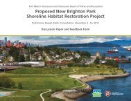 Shoreline Habitat Restoration Project