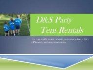 Portage WI Tent Rentals
