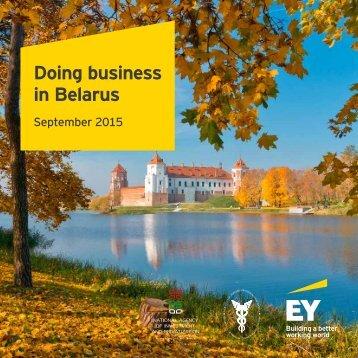 Doing business in Belarus