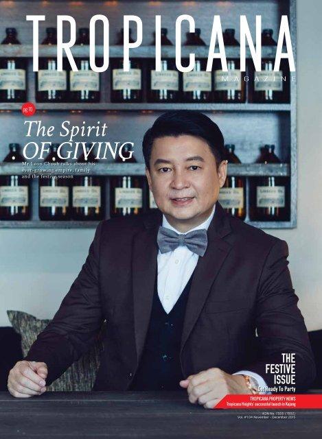 Tropicana Magazine Nov-Dec 2015 #104: The Festive Issue