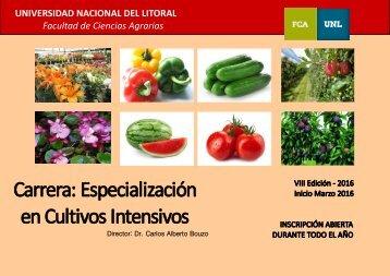 UNIVERSIDAD NACIONAL DEL LITORAL Facultad de Ciencias Agrarias