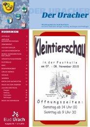 Der Uracher KW 45-2015