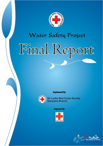 Water Safety Project Final Report