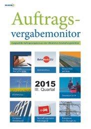 Auftragsvergabemonitor III-2015