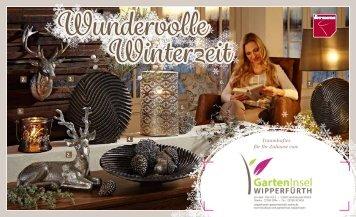 Winter- und Weihnachtsprospekt 2015
