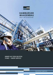 Download Service-Broschüre - Hamburger Waagenbau GmbH