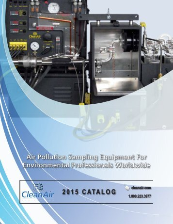 Clean Air Engineering Product Catalog