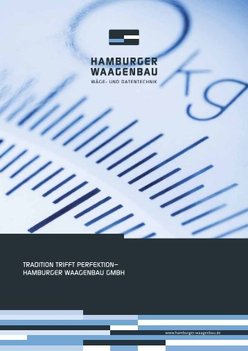 Download Firmen-Broschüre - Hamburger Waagenbau GmbH