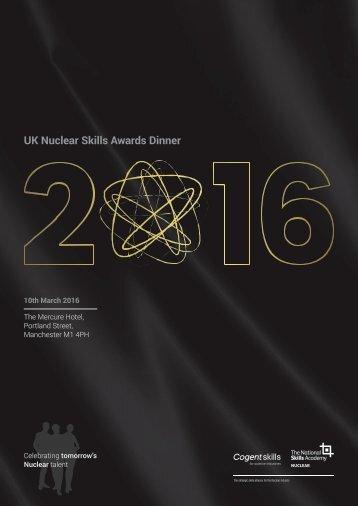 UK Nuclear Skills Awards Dinner