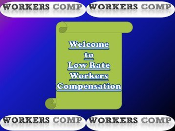 Workers Comp Quote