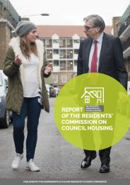 COMMISSION ON COUNCIL HOUSING