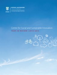 Centre for Social and Sustainable Innovation