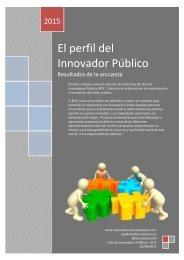 El perfil del Innovador Público