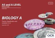 BIOLOGY A