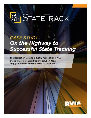 On the Highway to Successful State Tracking