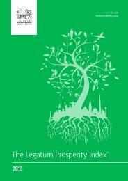 The Legatum Prosperity Index