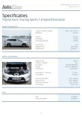 Toyota Auris Touring Sports - Page 6
