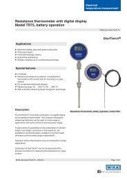 """Schutzrohr Cr-Ni-Stahl 1//2/"""" x  63 mm für Thermometer"""