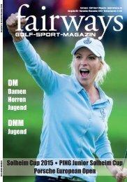 fairways Ausgabe 5/2015
