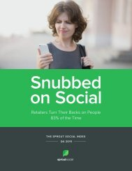Snubbed on Social