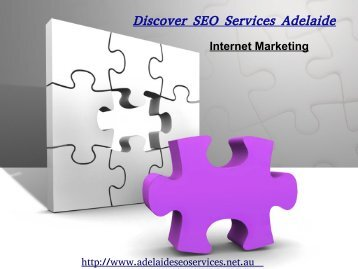 Internet marketing services Discover Adelaide