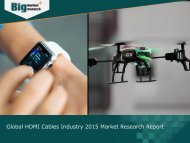 Global HDMI Cables Industry 2015 Market Research Report