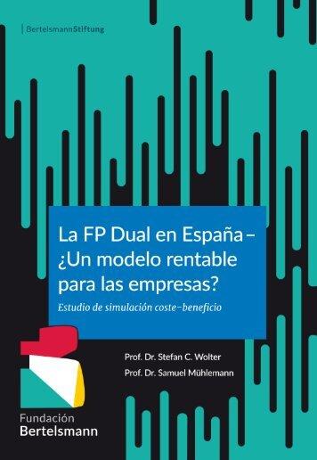 La FP Dual en España – ¿Un modelo rentable para las empresas?