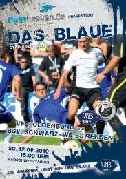 BSV Rehden - VfB Oldenburg
