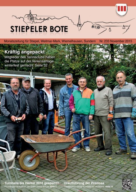Stiepeler Bote 233 - November 2015