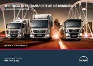 MAN TG: Eficiencia en el transporte de distribución