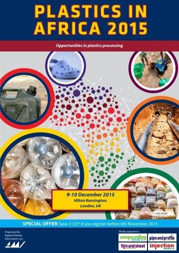 PLASTICS IN AFRICA 2015