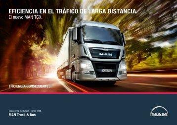 MAN TG: Eficiencia en el tráfico de larga distancia