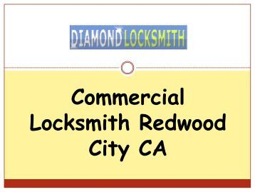 Commercial Locksmith Redwood City CA