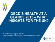 GLANCE 2015 – WHAT INSIGHTS FOR THE UK?