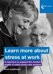 Learn more about stress at work