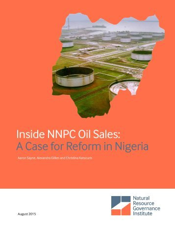 Inside NNPC Oil Sales A Case for Reform in Nigeria