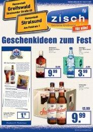 Zisch Angebote KW47/2015 - Greifswald/Stralsund