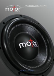 Motor Audio Catalog 2015-2016