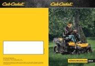 Cub Cadet katalog 2016 DE