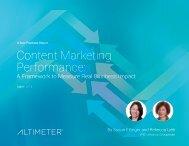 Content Marketing Performance