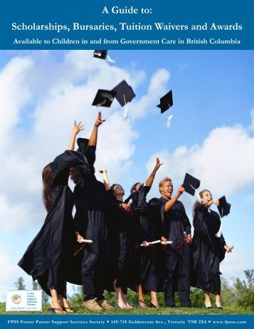 Scholarships Bursaries Tuition Waivers and Awards