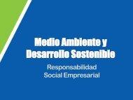 Sesión 1 - Medio Ambiente y Desarrollo Sostenible