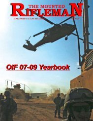 OIF 07-09 Yearbook - Fort Hood