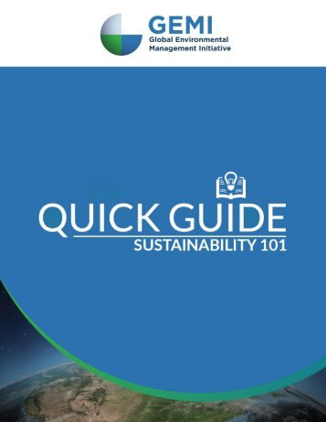 Background on GEMI Quick Guides About this Quick Guide Table of Contents